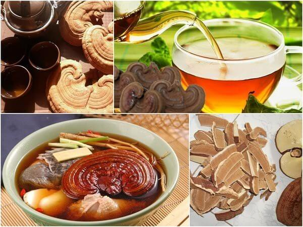People with lung disease can use reishi mushroom in a variety of ways
