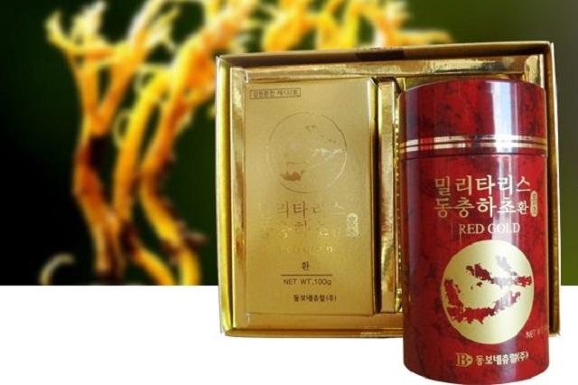 Trùng thảo Hàn Quốc có nhiều loại khác nhau