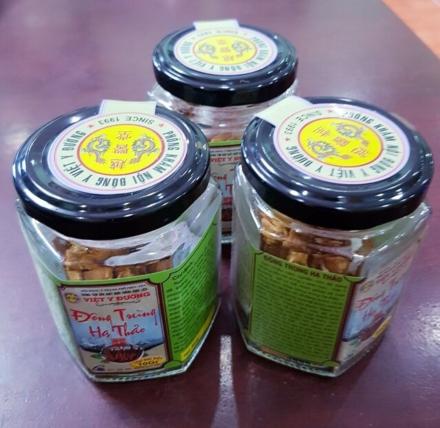 Đông trùng hạ thảo tươi của Việt Y Đường