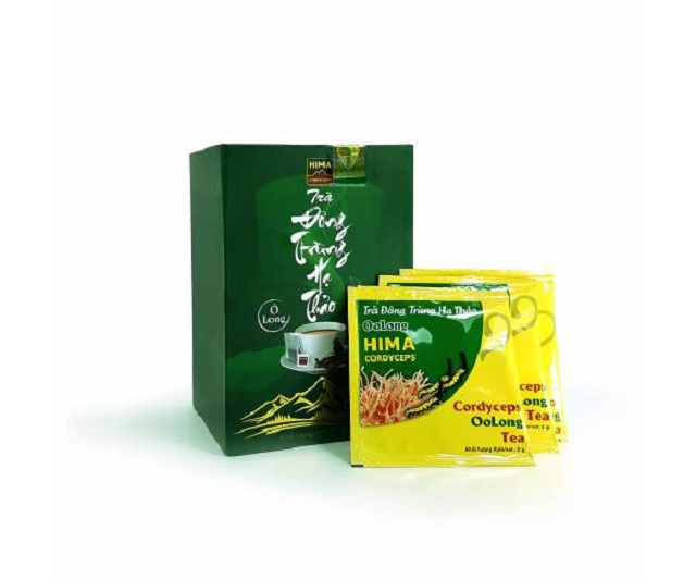 Olong cordyceps tea helps to relax the mind