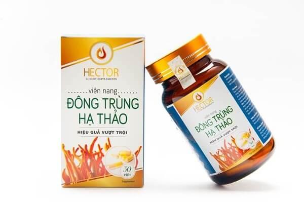 Viên uống đông trùng hạ thảo Công ty Hector mang đến hiệu quả vượt trội