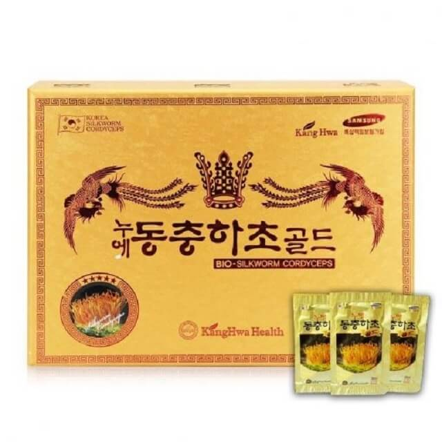 Korean cordyceps in the form of a package