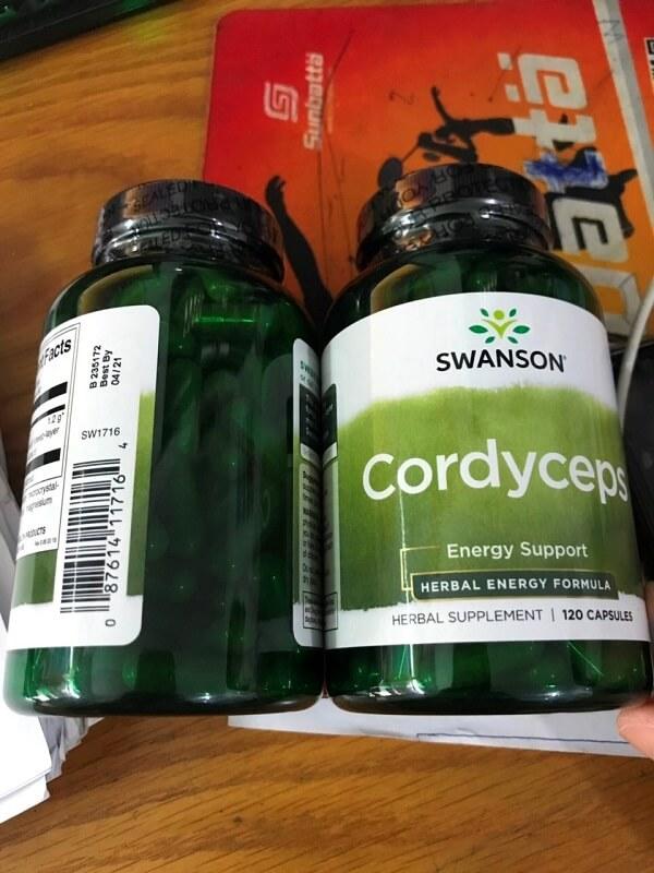 Đông trùng hạ thảo thương hiệu Swanson có thể hỗ trợ điều trị nhiều chứng bệnh khác nhau
