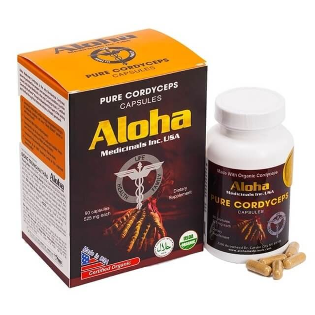 Trùng thảo Aloha được sản xuất theo quy trình nghiêm ngặt