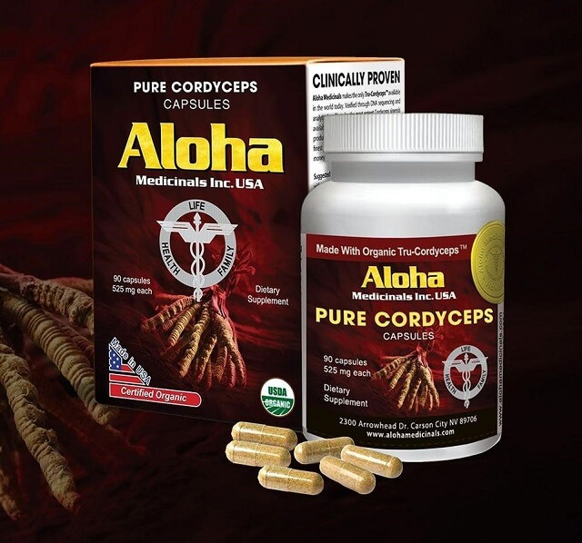 Đông trùng hạ thảo Aloha có chất lượng tuyệt vời
