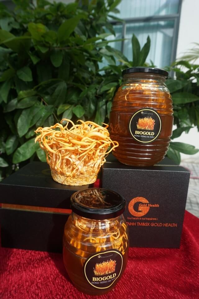 Cordyceps soaked honey has delicious taste