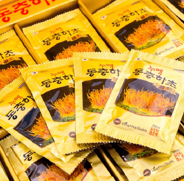 The main ingredient in the product is Cordyceps