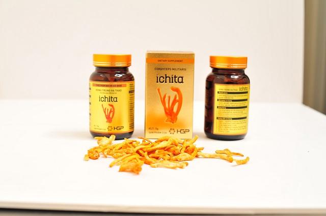 Đông trùng hạ thảo Ichita chứa nhiều hàm lượng hoạt chất tốt cho sức khỏe