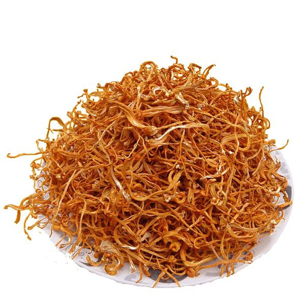 Đông trùng hạ thảo khô mang thương hiệu Khang Thịnh
