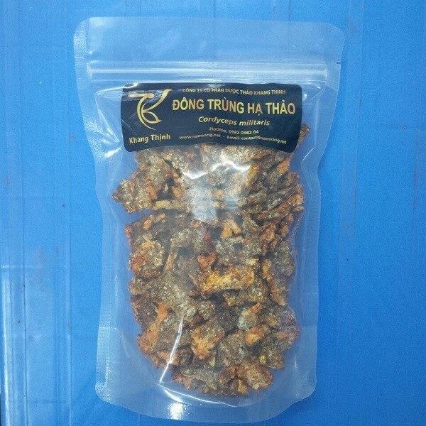Sản phẩm đế đông trùng hạ thảo có chất lượng tốt của thương hiệu Khang Thịnh