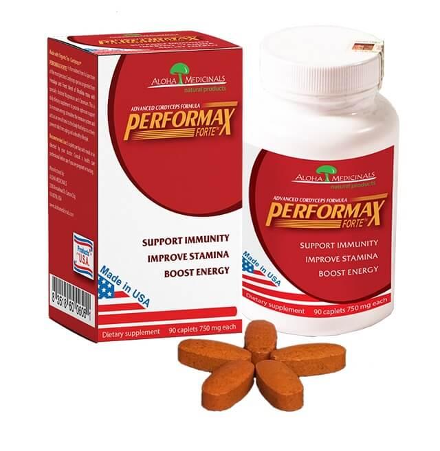 Đông trùng hạ thảo thương hiệu Performax được sử dụng trùng thảo nuôi trồng tại Mỹ