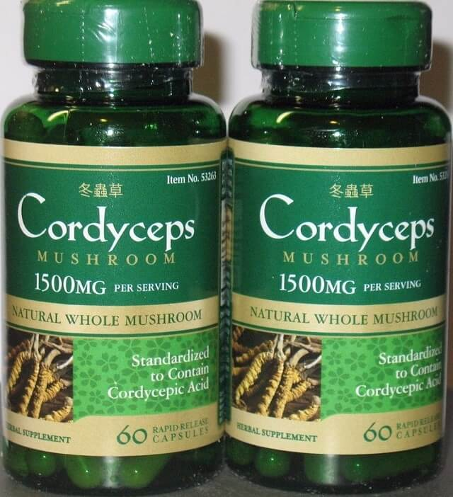Puritan's Pride Cordyceps Mushroom contains many valuable nutrients