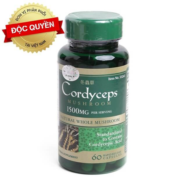 Puritan's Pride Cordyceps is the perfect choice for user health