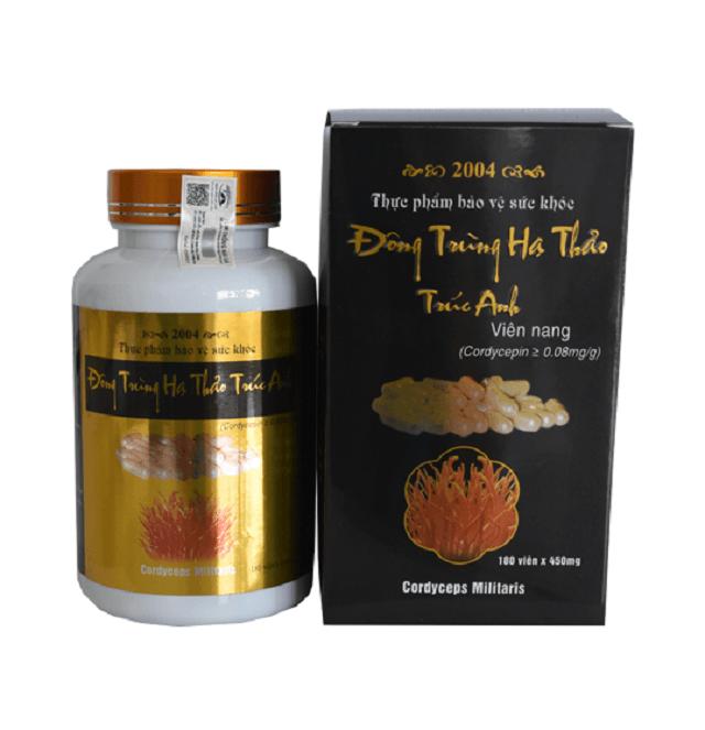 Cordyceps Truc Anh brand in capsule form