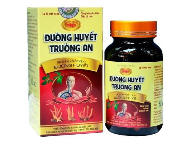 The product has the presence of Truong An cordyceps