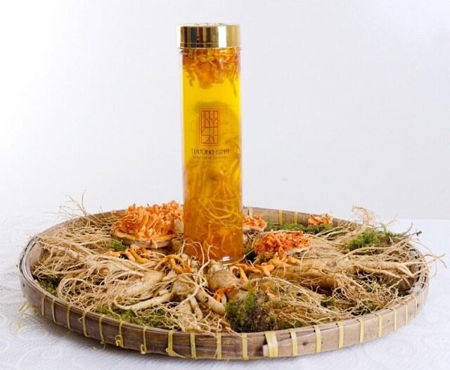 Longevity cordyceps longevity ginseng has a delicious taste