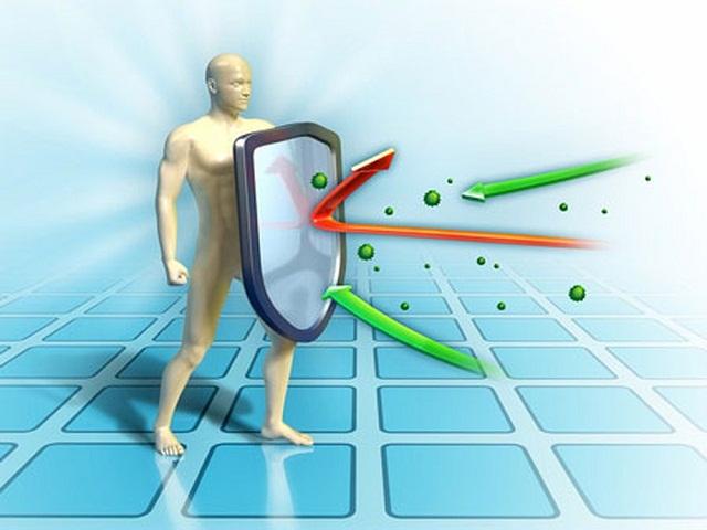 Hệ miễn dịch khỏe mạnh giúp chống lại các tác nhân gây bệnh bên ngoài