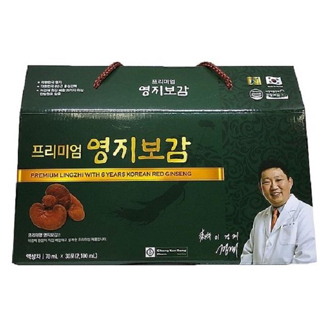 Nấm linh chi Chong Kun Dang được nghiên cứu và khẳng định có thành phần dược chất quý hiếm
