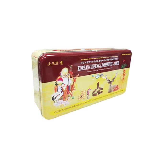 Nấm linh chi Korean Ginseng Linhzhivit có tác dụng điều trị những căn bệnh về đường tiêu hóa