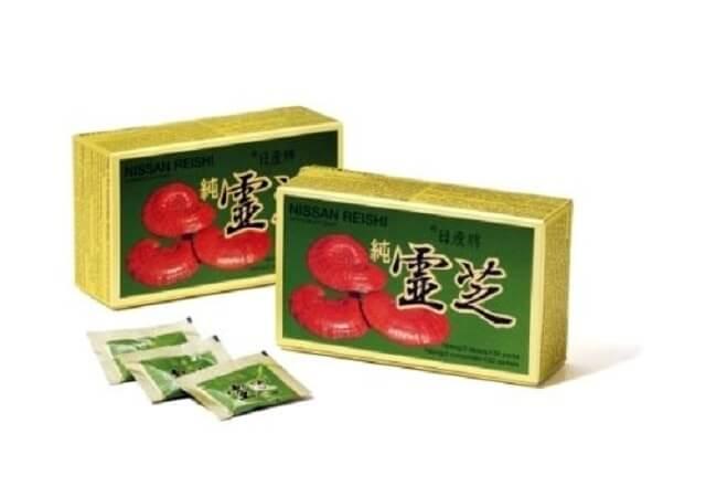 Japanese reishi mushroom is effective on the body