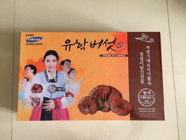 Nấm linh chi Hàn Quốc mang đến nhiều công dụng tuyệt vời cho người dùng