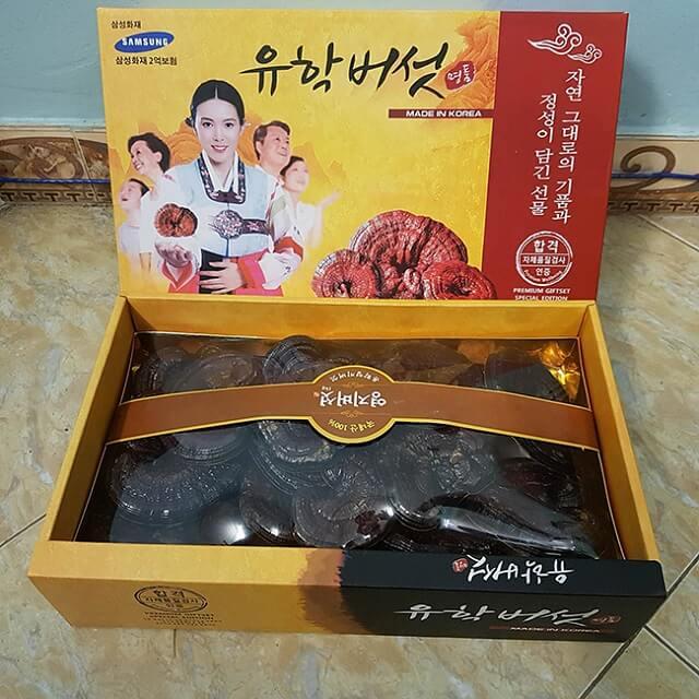 Nấm linh chi Hàn Quốc Samsung phù hợp sử dụng cho nhiều đối tượng