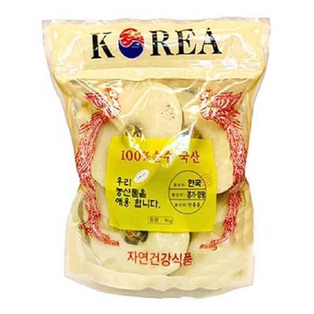 Nấm linh chi túi vàng, túi xanh của Hàn Quốc có chất lượng tuyệt vời