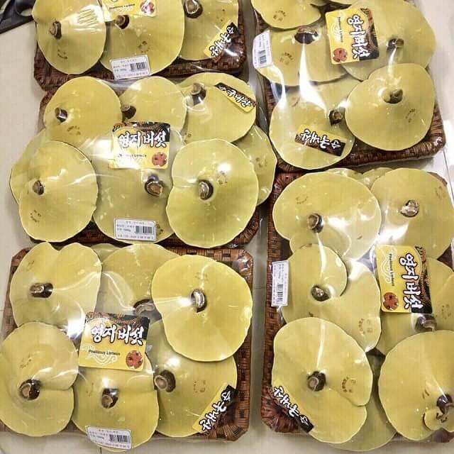 Nấm linh chi vàng, vàng chanh Hàn Quốc luôn đảm bảo về chất lượng