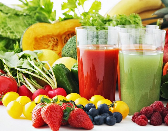 Should use more vegetables and fruits to have a good health