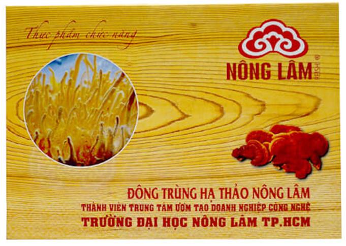 Sản phẩm Đông trùng hạ thảo Nông Lâm