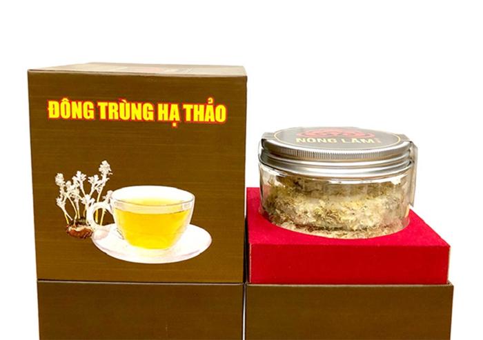 Đông trùng hạ thảo Nông Lâm đến từ thương hiệu Linh Chi Nông Lâm