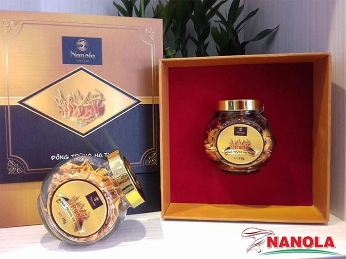 Đông trùng hạ thảo Nanola được nuôi cấy và sản xuất tại Ninh Thuận