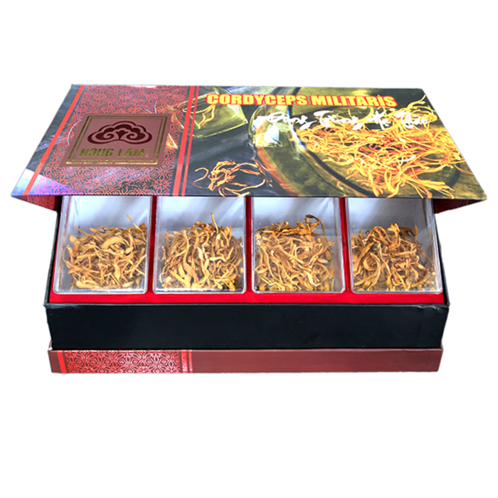 Một sản phẩm đông trùng hạ thảo thương hiệu Linh Chi Nông Lâm