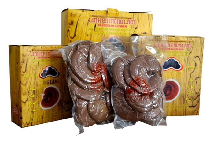 Một sản phẩm nấm Linh Chi Nông Lâm