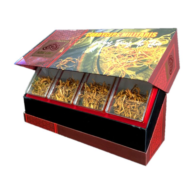Đông trùng hạ thảo có dưỡng chất cao tại Linh Chi Nông Lâm.