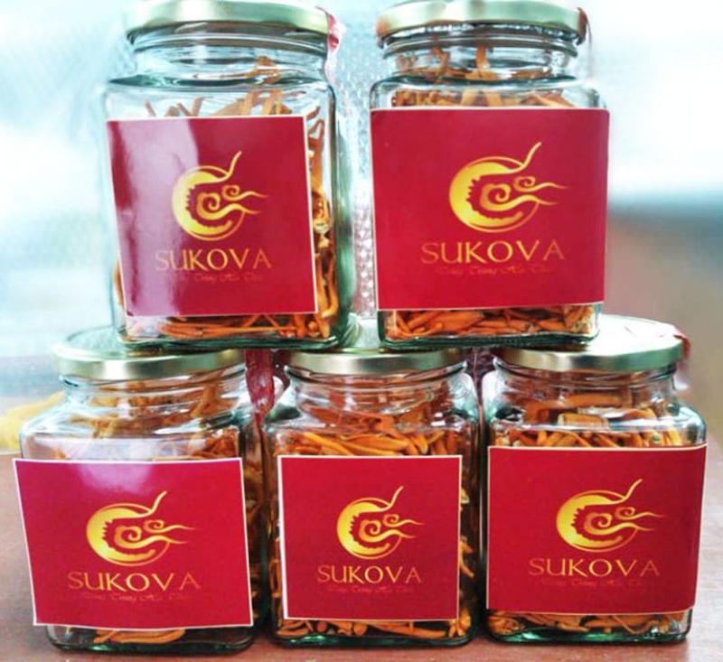 Sản phẩm đông trùng hạ thảo của Sukova.