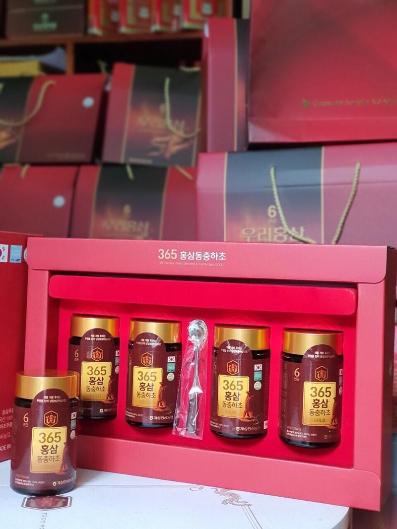 Đông trùng hạ thảo của Siêu thị sâm Hàn Quốc.
