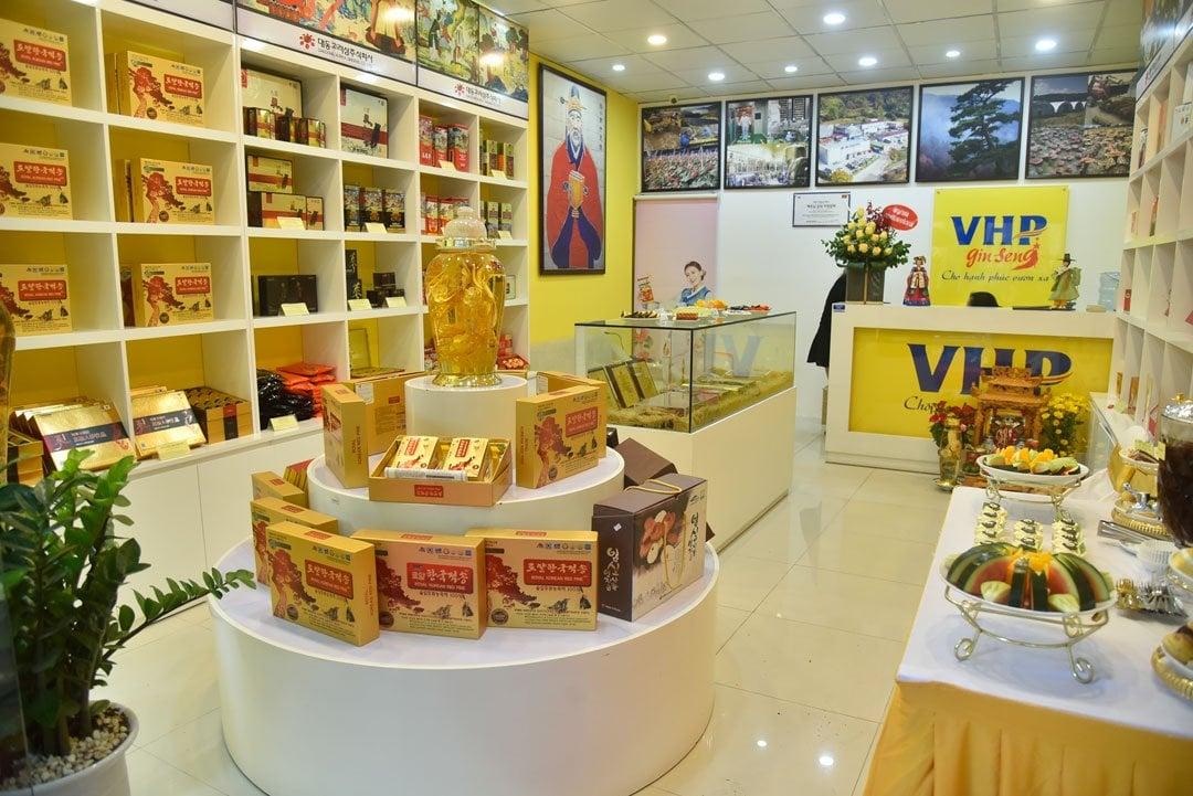 Cửa hàng bán nấm lim xanh tại Hà Nội